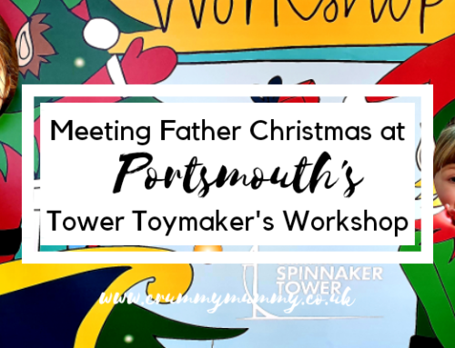 Meeting Father Christmas at Portsmouth's Tower Toymaker's Workshop