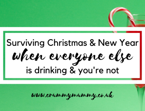 Surviving Christmas & New Year when everyone else is drinking & you're not