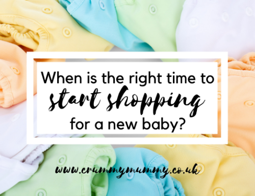 When is the right time to start shopping for a new baby?