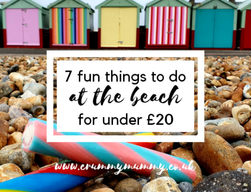 7 fun things to do at the beach for under £20 #ad