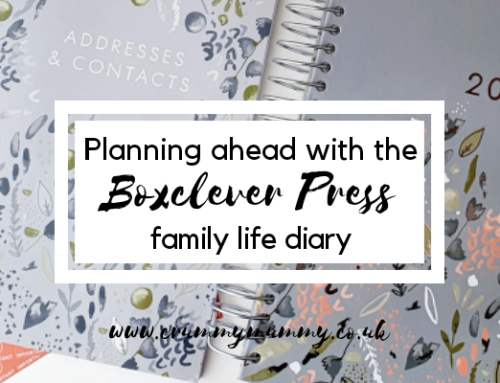 Planning ahead with the Boxclever Press family life diary
