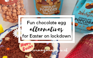 chocolate egg alternatives