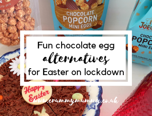 Fun chocolate egg alternatives for Easter on lockdown