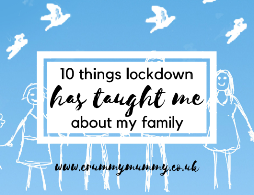 10 things lockdown has taught me about my family