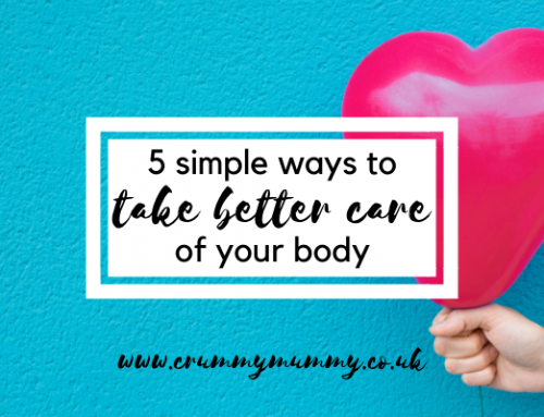 5 simple ways to take better care of your body #ad