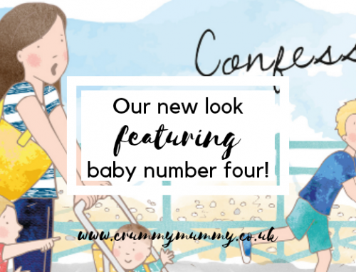 Our new look featuring baby number four!