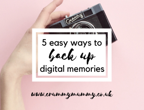 5 easy ways to back up digital memories #ad