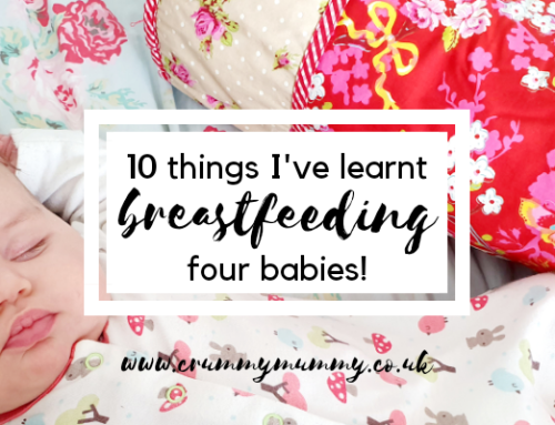 10 things I've learnt breastfeeding four babies!
