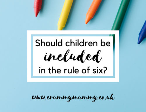 Should children be included in the rule of six?