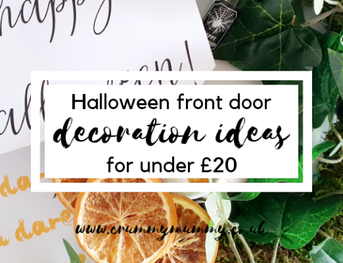 Halloween front door decoration ideas for under £20 #ad