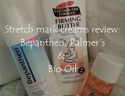 Stretch mark creams review: Bepanthen, Palmer's & Bio Oil