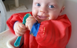 Baby led weaning 5