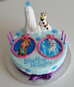 Frozen cake main