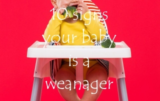 10 signs your baby is a weanager featured