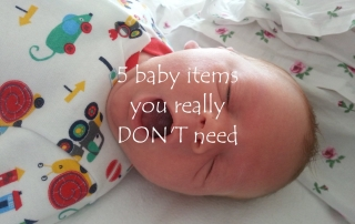 5 baby items you don't need - featured