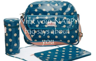 What your nappy bag says about you featured