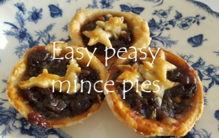 Easy peasy mince pies featured