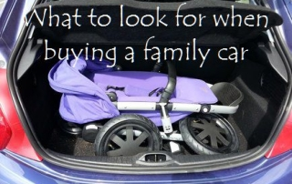 What to look for when buying a family car featured