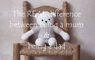 The REAL difference between being a mum & being a dad 2