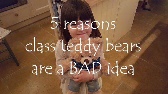reasons class teddy bears are a BAD idea