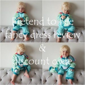 Pretend to Bee fancy dress review & discount code