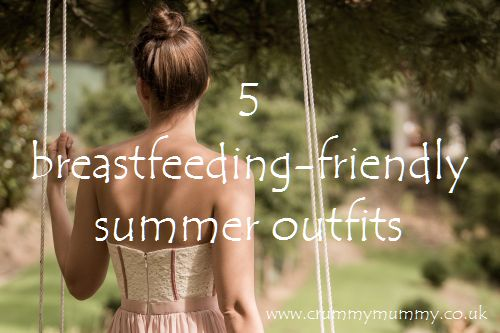 5 breastfeeding-friendly summer outfits