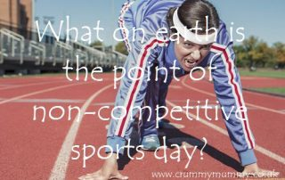 What on earth is the point of non-competitive sports day