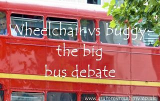 Wheelchair vs buggy the big bus debate
