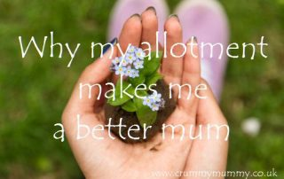 Why my allotment makes me a better mum