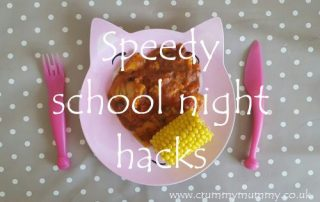 Speedy school night hacks