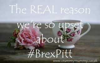 The REAL reason we're so upset about #BrexPitt