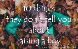 10 things they don't tell you about raising a boy