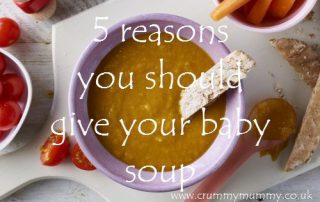 5 reasons you should give your baby soup