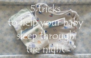 5 tricks to help your baby sleep through the night