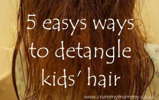 5 easy ways to detangle kids' hair