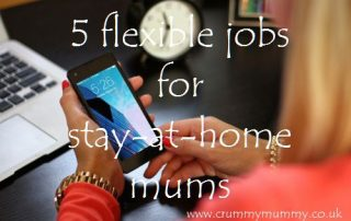 5 flexible jobs for stay-at-home mums