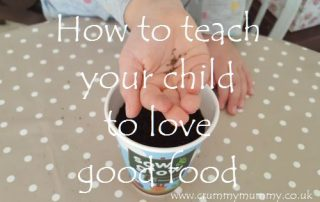 How to teach your child to love good food