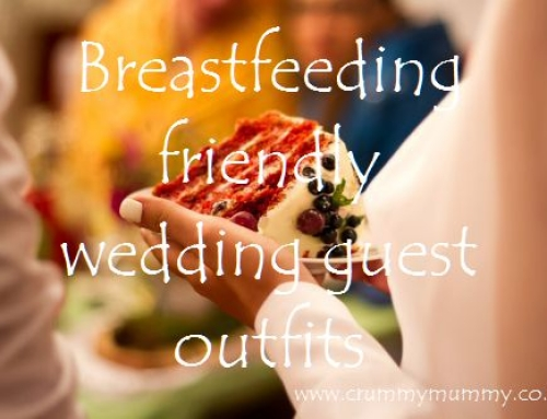 Breastfeeding friendly wedding guest outfits