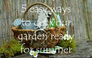5 easy ways to get your garden ready for summer