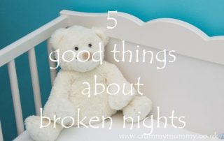 5 good things about broken nights