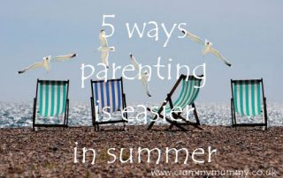 5 ways parenting is easier in summer