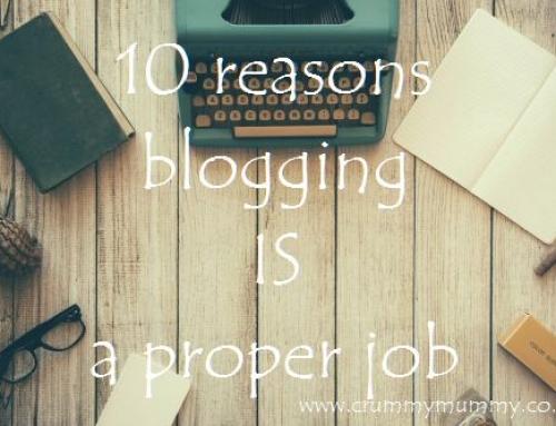 10 reasons blogging IS a proper job