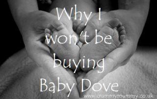 Why I won't be buying Baby Dove