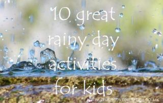 10 great rainy day activities for kids
