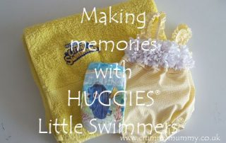 Making memories with Huggies Little Swimmers
