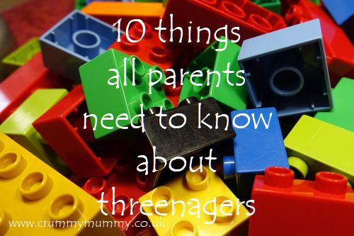 10 things all parents need to know about threenagers