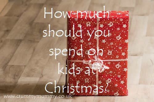 How much should you spend on kids at Christmas?