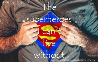 The superheroes I can't live without