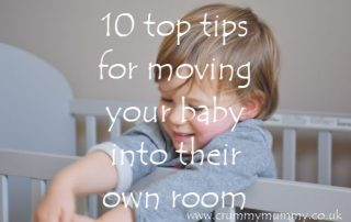 moving your baby into their own room