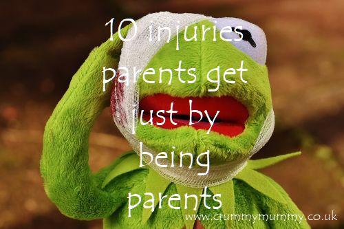 injuries parents get